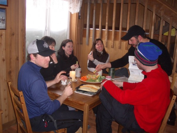 Friends playing games at Copper Creek
